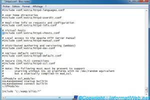 exemple de httpd.conf