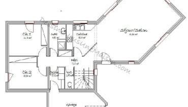exemple de maison 4 chambres