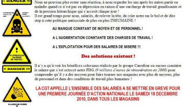 exemple de tract syndical
