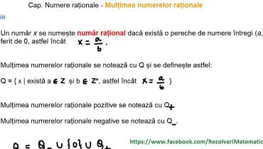 exemple de numere in q