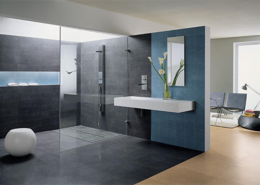 exemple de salle de bain. Black Bedroom Furniture Sets. Home Design Ideas
