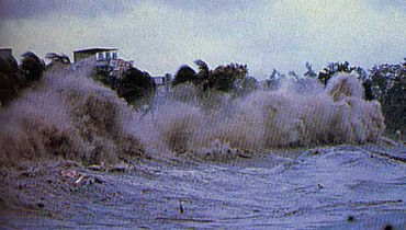 exemple de tsunami dans le monde