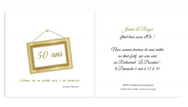 exemple de carte d invitation 50 ans