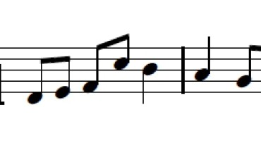 exemple de rythme binaire