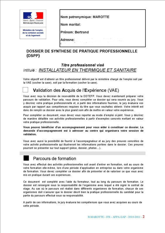 dspp afpa exemple