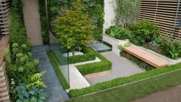 exemple de jardin moderne