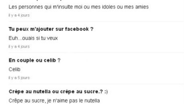 exemple de question ask