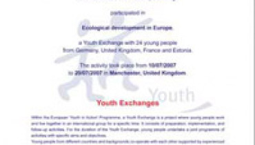 exemple de youthpass