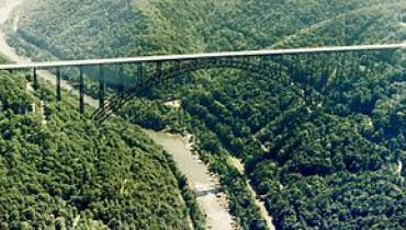 exemple de pont a arc en france