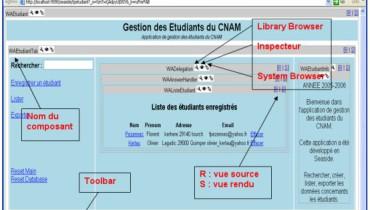 exemple d application web de gestion