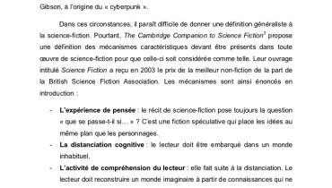 exemple d histoire de science fiction