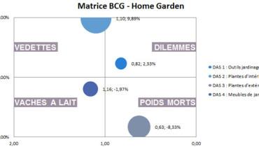 exemple de matrice bcg sur excel