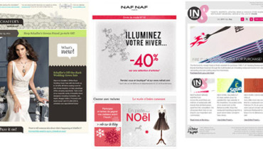 exemple de newsletter design