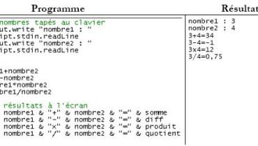 exemple de vbscript