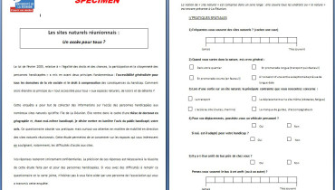 exemple d enquete de questionnaire