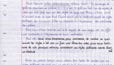 exemple de dissertation 1ere s