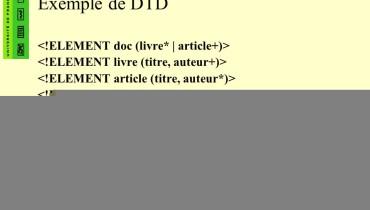 exemple de dtd xml