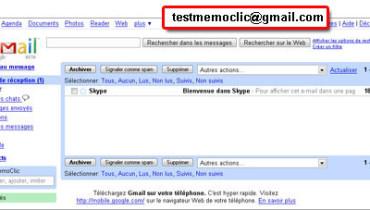 exemple de gmail