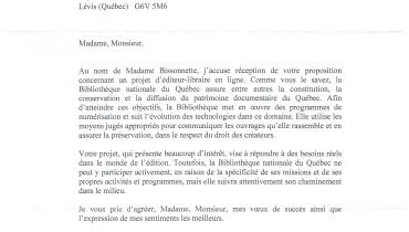 exemple de lettre a un ministre