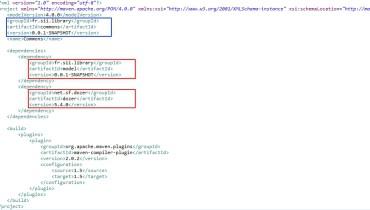 exemple de pom.xml
