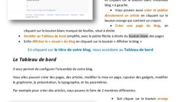 exemple de blog blogger