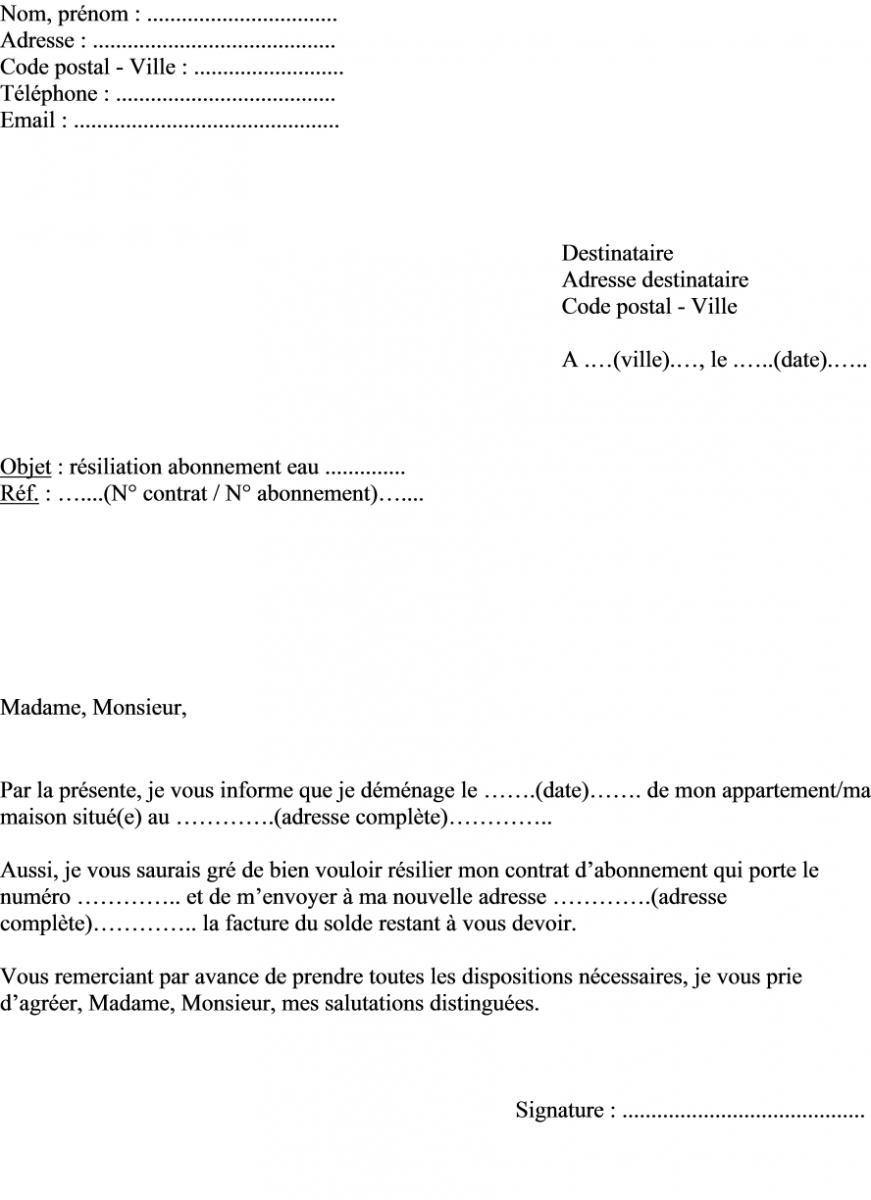 Rtf Model D Une Lettre De Reclamation