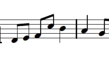 exemple de rythme musique