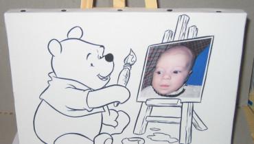 exemple de toile a peindre