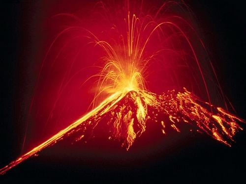 exemple de volcan explosif