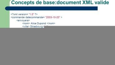 exemple de document xml valide