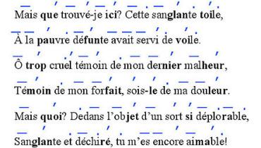 exemple de vers de 8 syllabes