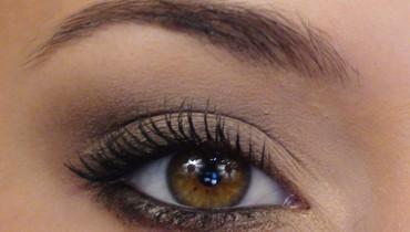 exemple de yeux maquiller