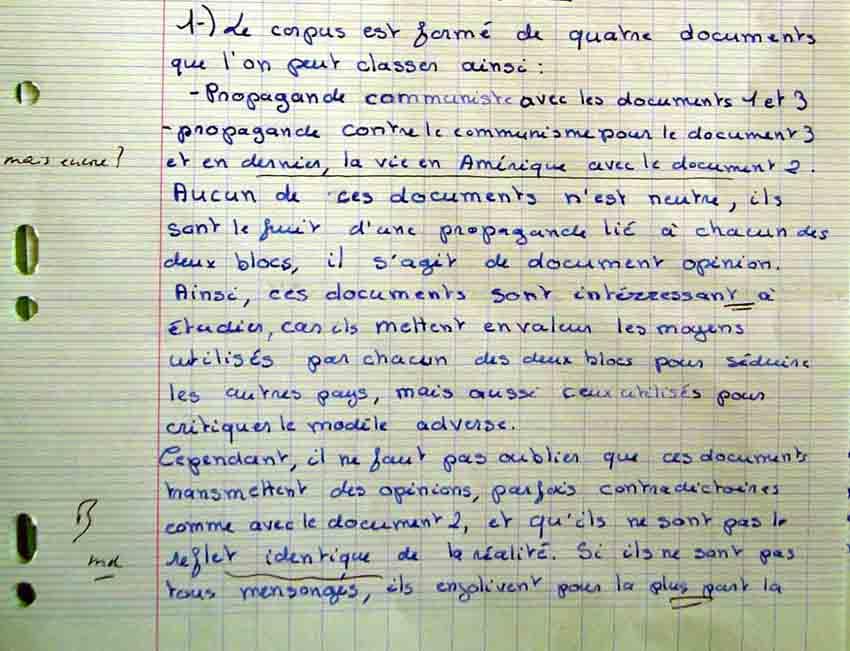 introduction pour une dissertation sur le mal C'est mal - l'introduction pouvait s'ouvrir sur ce lieu jetées sur le papier, sans être pour l une autre dissertation - 3) le genre.