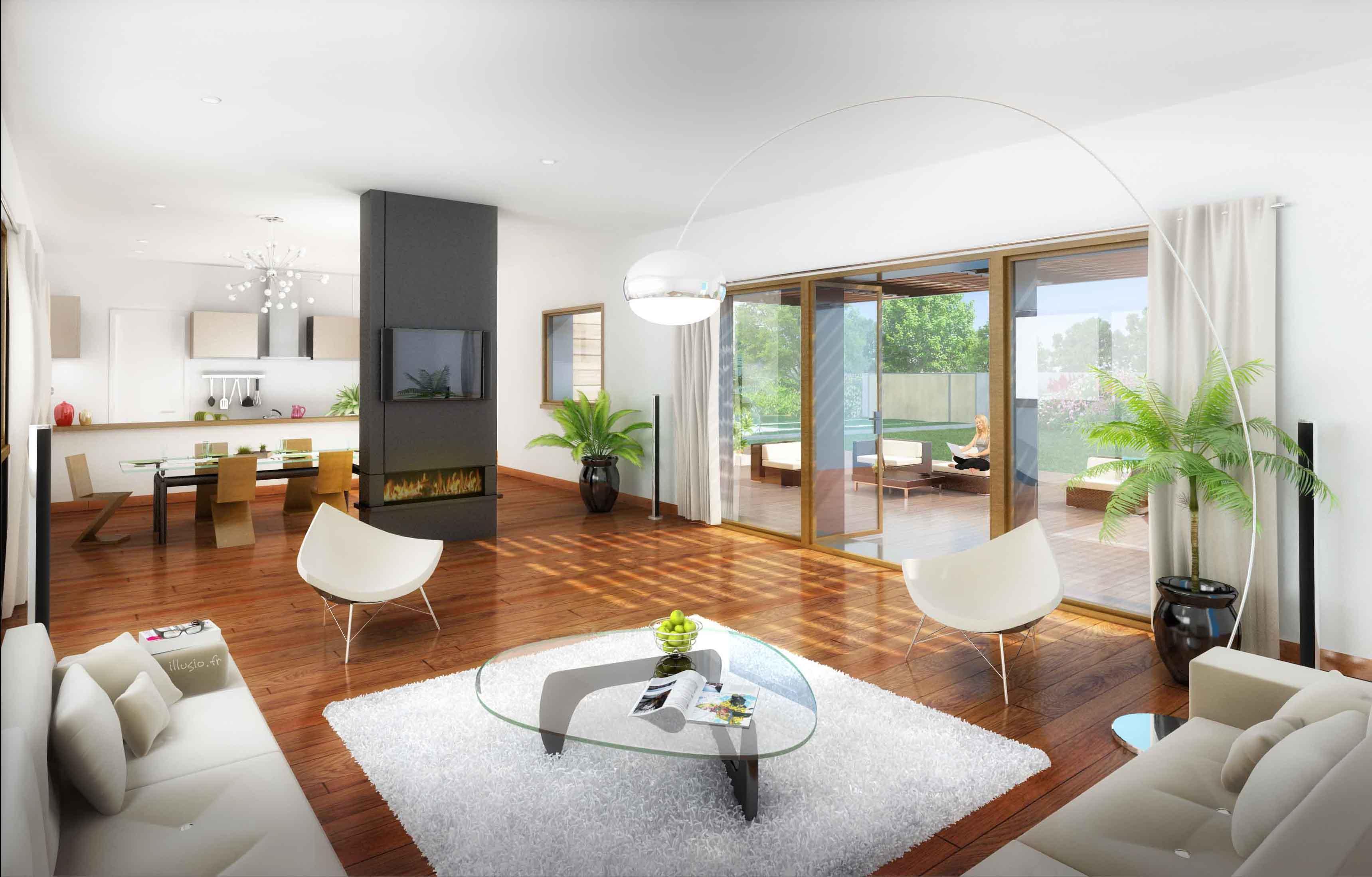 Exemple d interieur de maison - Exemple interieur maison ...