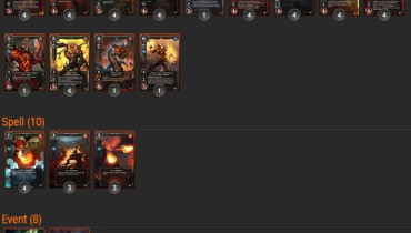 exemple de deck duel of champions