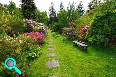 Exemple de jardin anglais for Deco jardin anglais