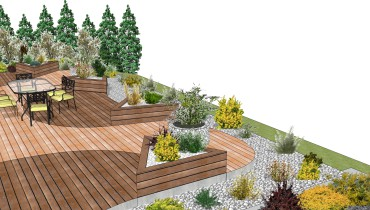 Exemple de signature p o for Exemple jardin paysager