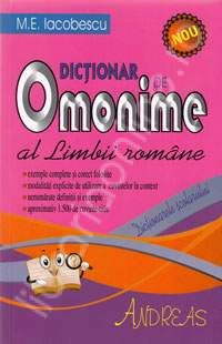 exemple de omonime totale