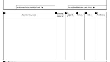exemple de certificat d origine rempli