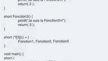 exemple de fonction en c