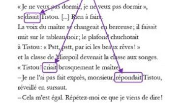 exemple de dialogue en francais