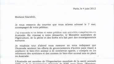 exemple de lettre adressee a un ambassadeur