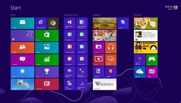 exemple de window 8